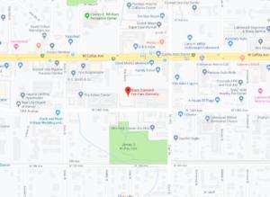 Lakewood Optometrist Map
